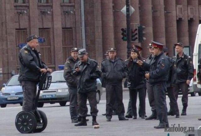 Приколы про русскую полицию (50 фото)