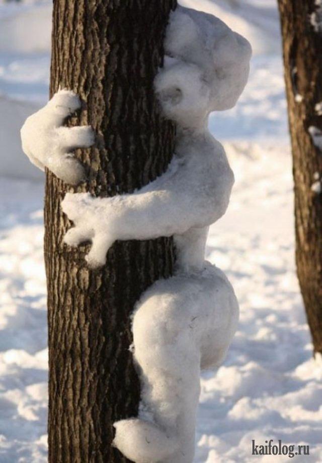 Зимние приколы. Часть-3 (45 фото)