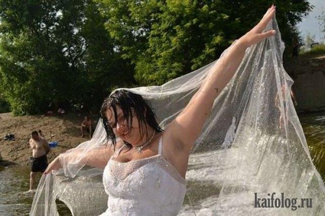 Прикольная свадьба в Донецке (20 фото)