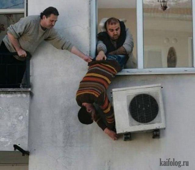 Техника безопасности по-русски (40 фото)