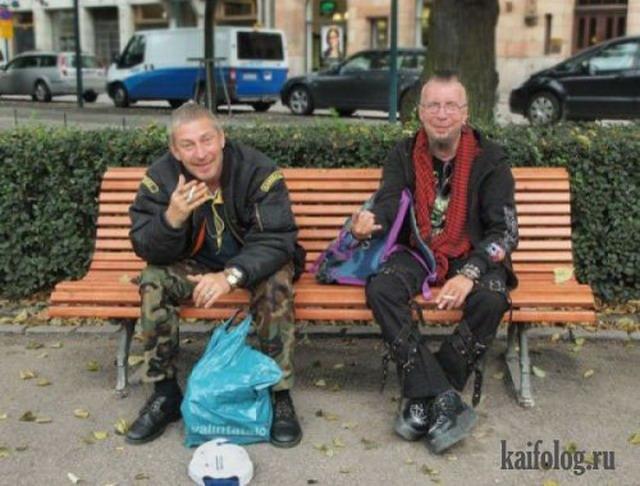 Старики зажигают (50 фото)