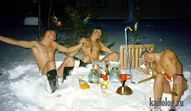 Новый год по-русски (50 фото)