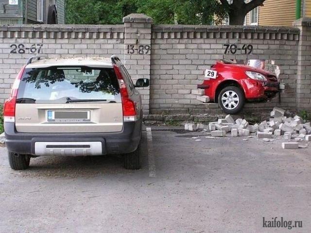 Автомобильные приколы (40 фото)