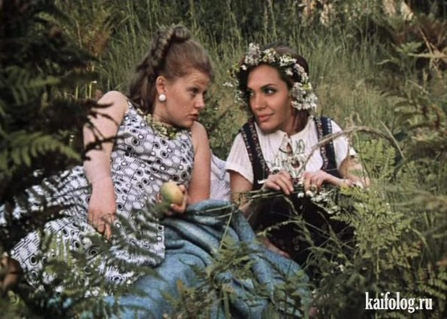 Звезды голливуда в советском кино (35 фотожаб)