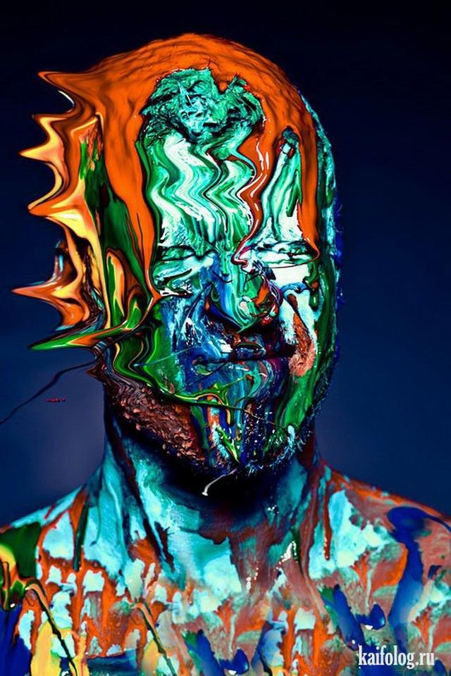 Люди и краски (20 фото)