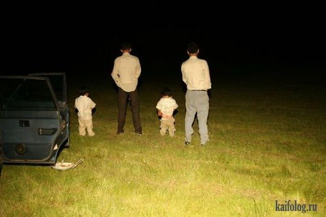 Дети и их родители. Часть-2 (45 фото)