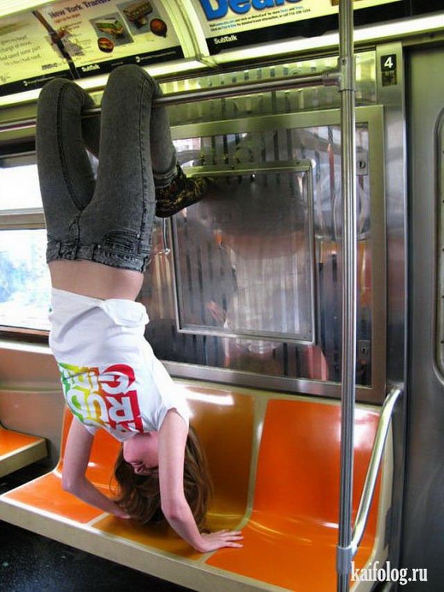 Приколы про метро (50 фото)