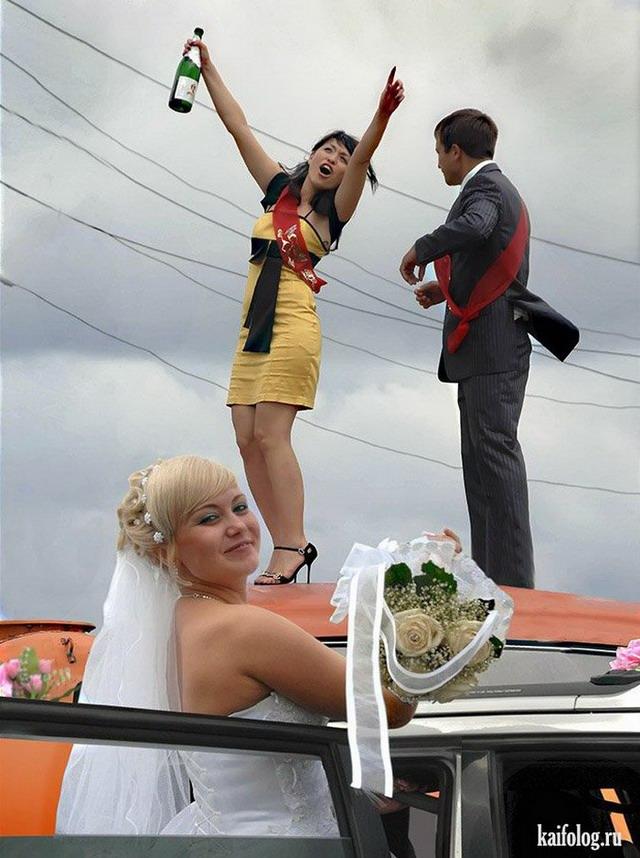 фото смешные случаи с невестами фотограф может