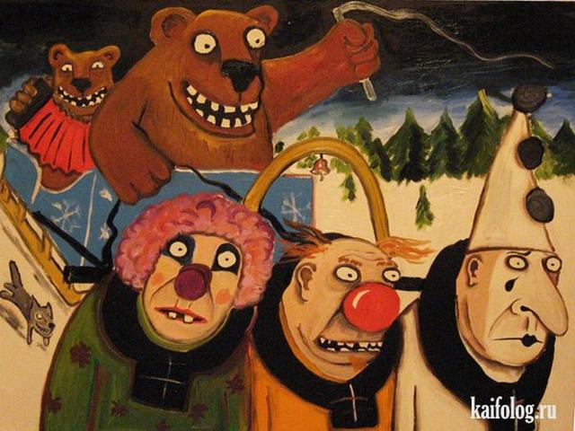 Картины Васи Ложкина. Часть-2 (35 картин)