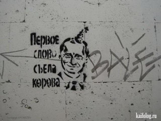 Приколы с выборов президента 04.03.2012 г. (45 фото)