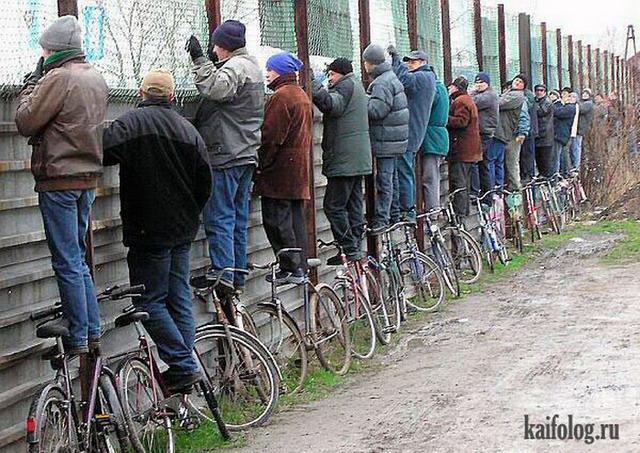 Велосипедисты-неудачники (50 фото)