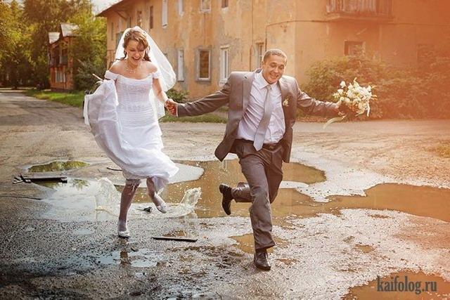 Свадебный балаган (50 фото)