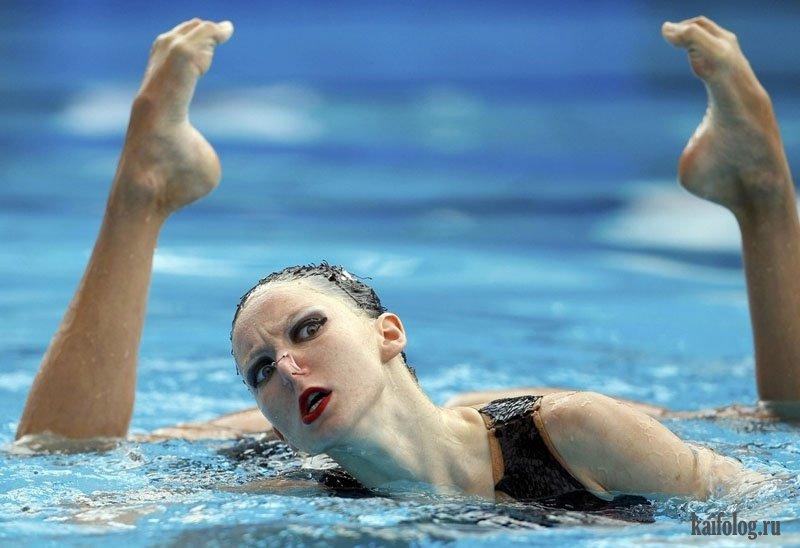 вам синхронное плавание приколы фото шукшина трижды