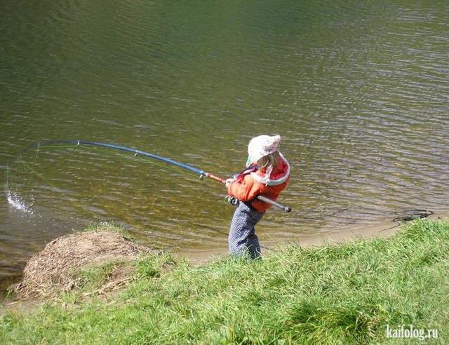 Приколы про рыбалку. Часть - 6 (50 фото)