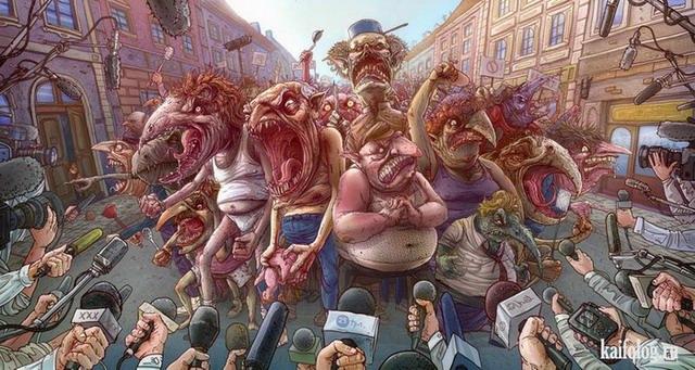 Иллюстрации от Michal Dziekan (30 картинок)