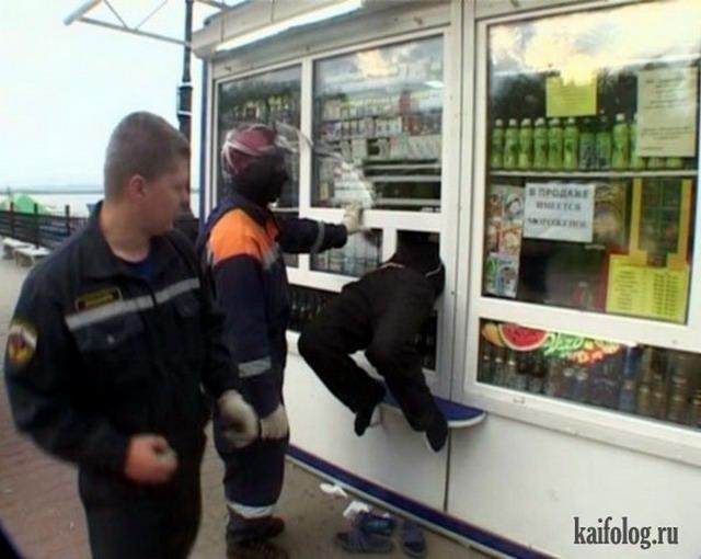 Застрявшие люди (45 фото + видео)