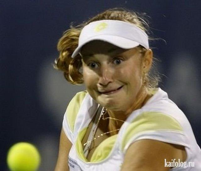 Прикольный теннис (70 фото)