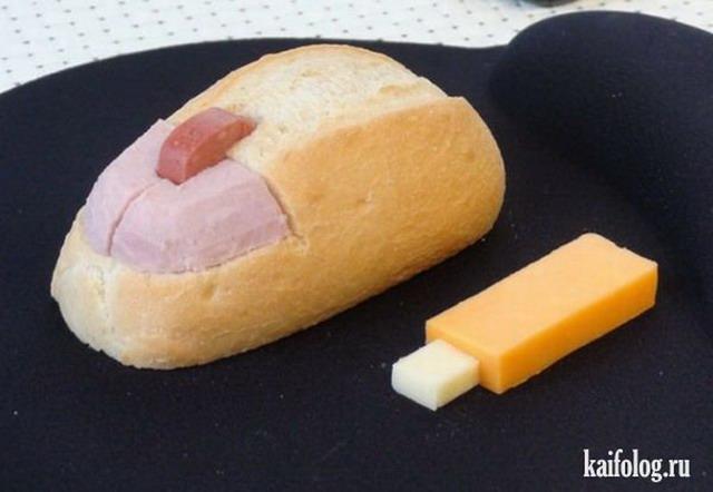 Креативная еда (50 фото)