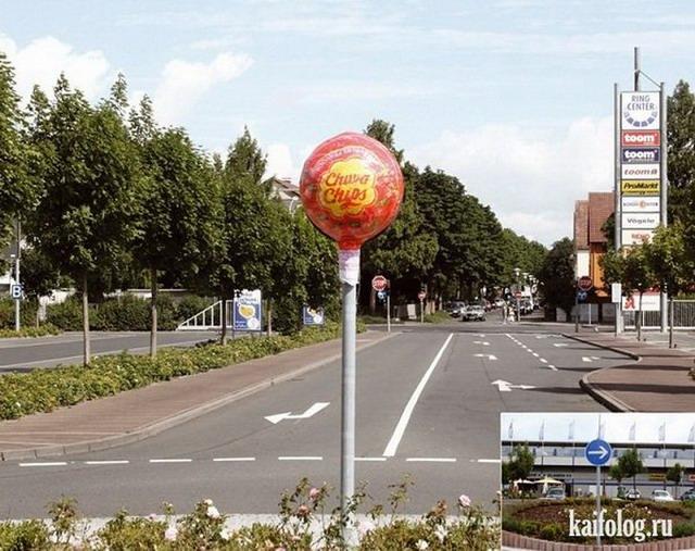 Креативная реклама Чупа-Чупс (20 фото)