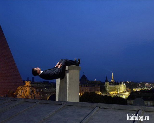 Вопреки гравитации (35 фото)