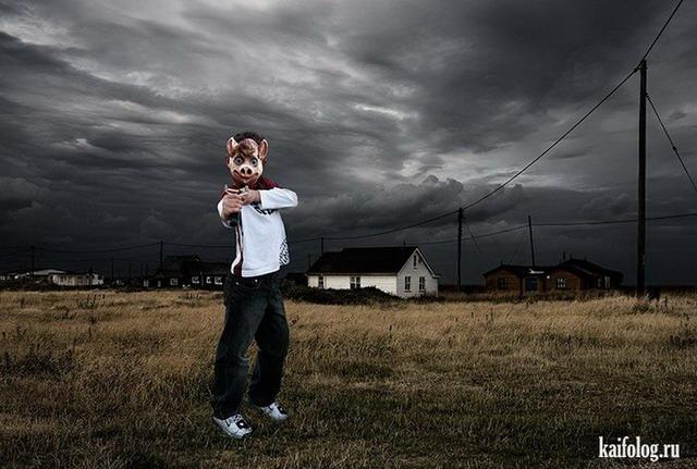 Прикольный фото-арт от Garry Owens (35 фото)