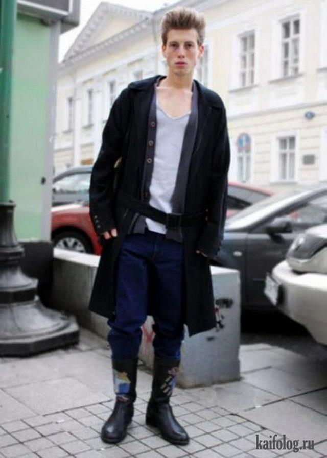 Уличная мода Москвы (40 фото + видео)
