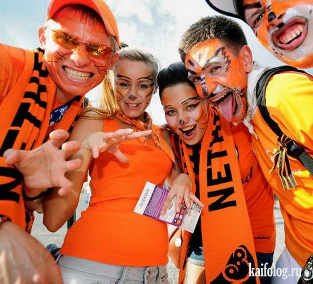 Болельщицы с Евро 2012 (50 фото)