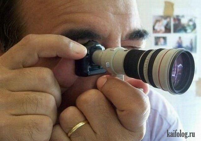 Прикольные фото фотографов. Часть-3 (65 фото)