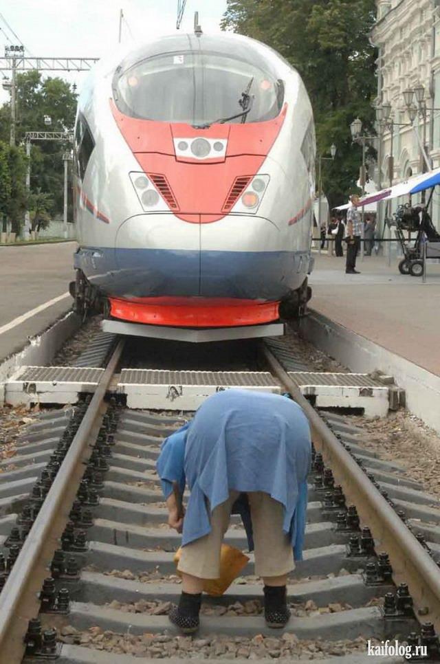 железнодорожные приколы фото украинского