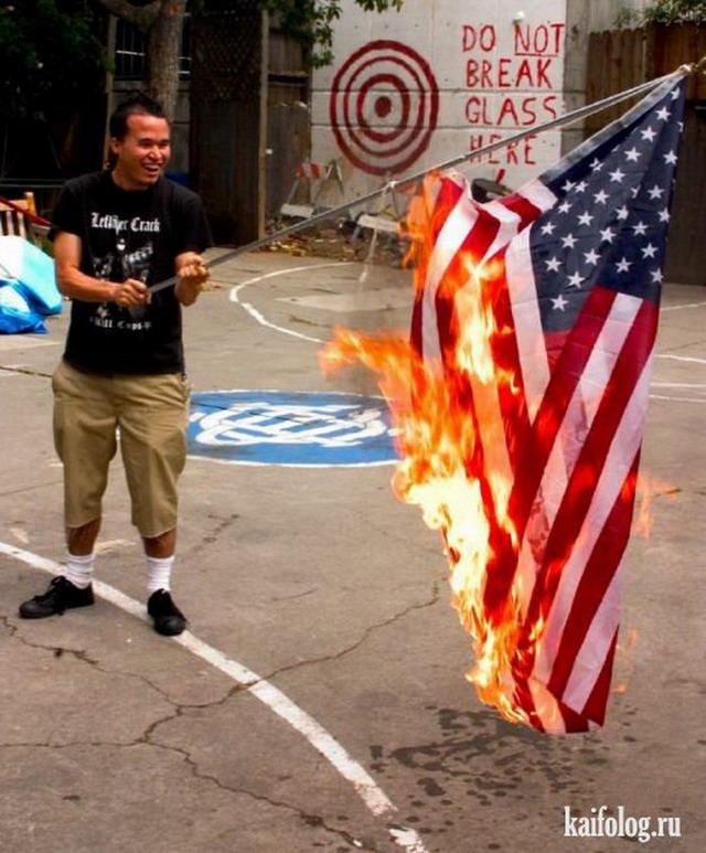 Приколы про Америку (55 фото)