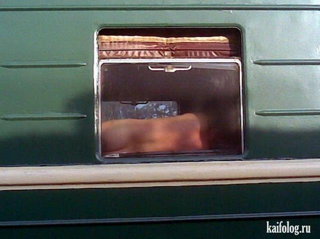 приколы в поездах фото