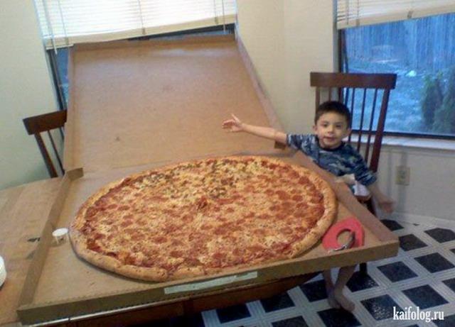 Приколы про пиццу (55 фото)