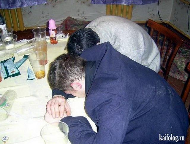 Пьяные люди (60 фото)
