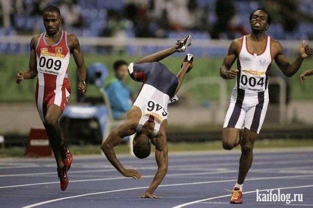 Приколы про бегунов (55 фото)