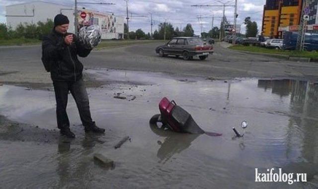 Прикольные байкеры (65 фото)