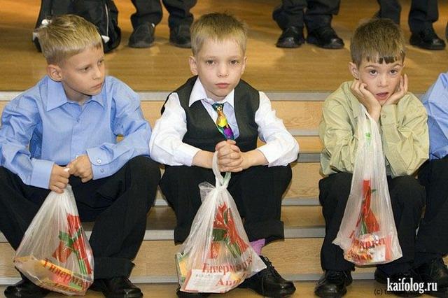 Приколы про школу (60 фото)