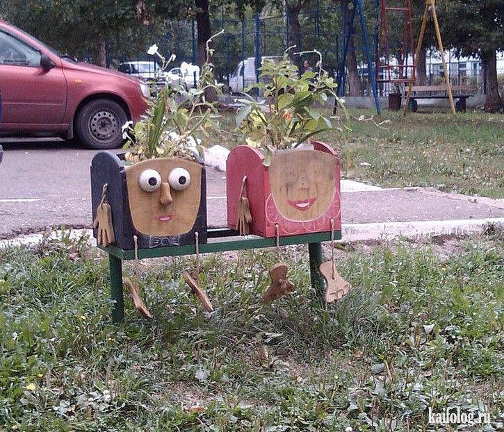 Как сделать машину для детей во дворе