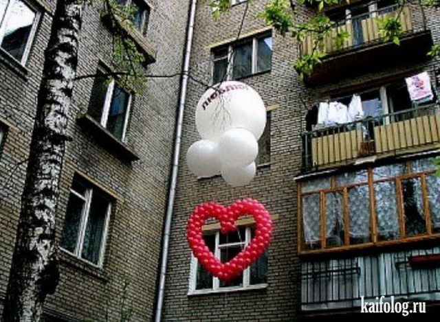 Необычные признания в любви (55 фото)