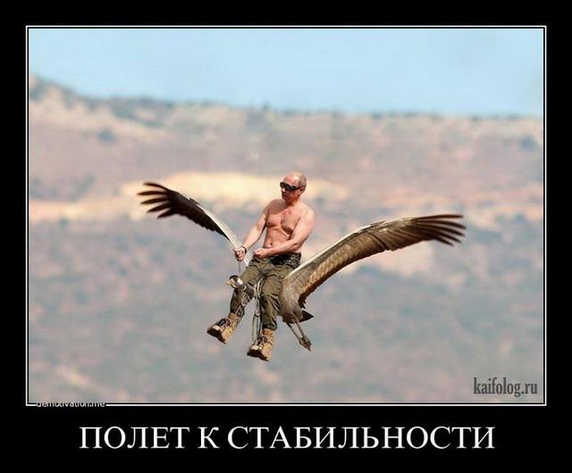 Путин и стерхи (55 картинок)