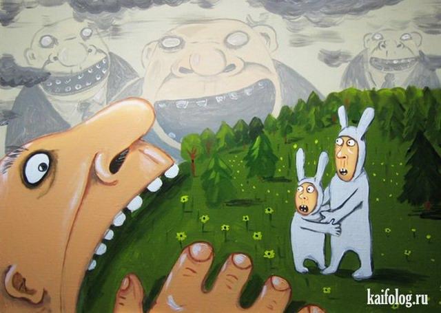 Картины Васи Ложкина. Часть-3 (30 картин)