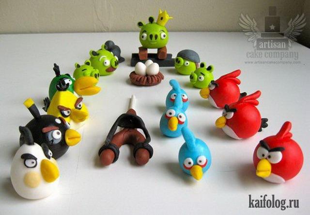 Angry Birds и омская птица (70 картинок)