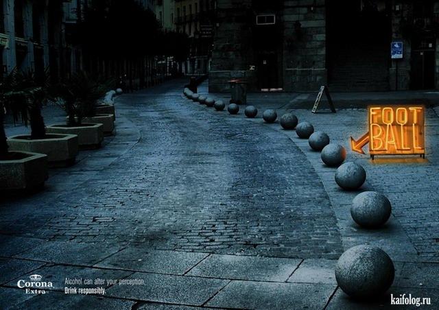 Креативная и прикольная реклама (55 фото)