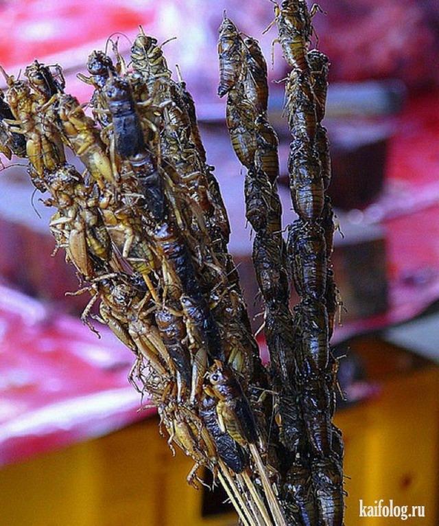 Экзотическая уличная еда (40 фото)