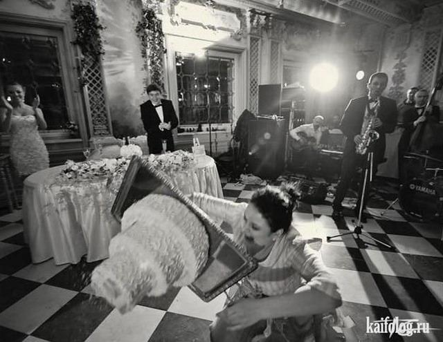 Свадебные приколы (65 фото)