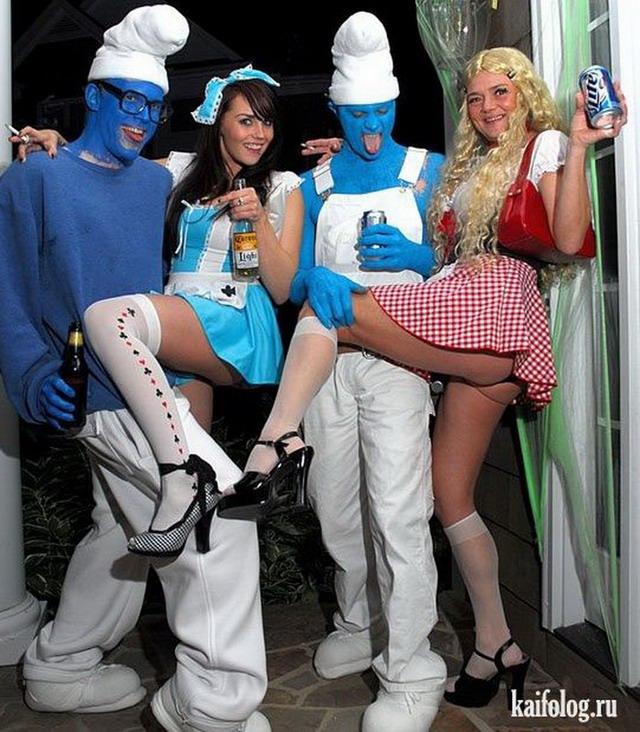 Прикольные костюмы (50 фото)