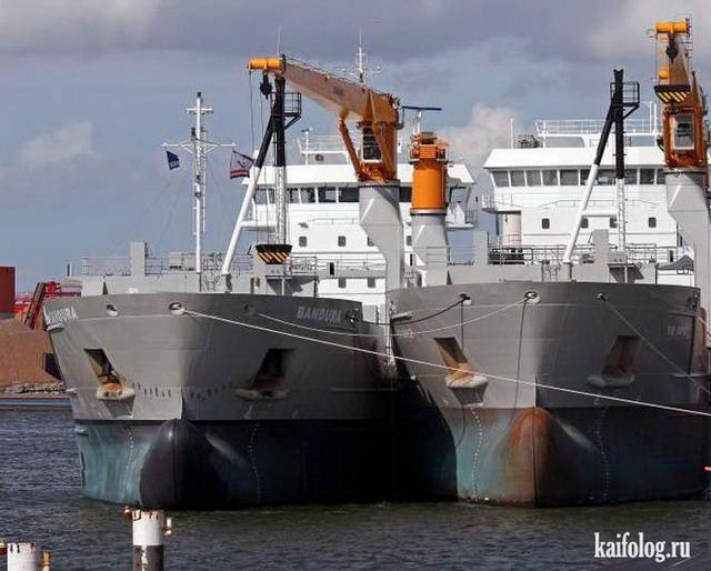 Прикольные названия кораблей (45 фото)