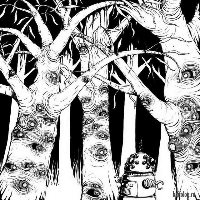Иллюстрации Роба Шеридан (20 картинок)