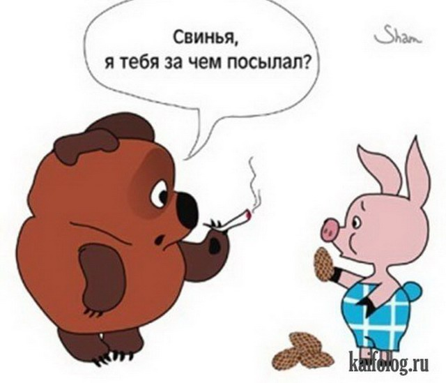 Картинки и карикатуры про медведей (60 картинок)