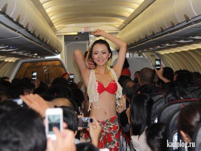 фото стюардесс без белья