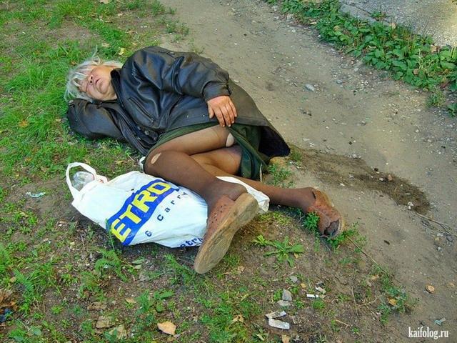 Пьяные приколы (60 фото)
